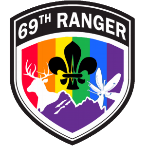 69th Ranger Scout Group Flash
